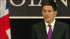 Talk to Taliban, foreign secretary Miliband urges